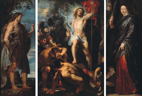 Peter Paul Rubens - Retablo de la Resurreccion - 1612