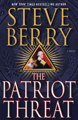 The Patriot Threat by Steve Berry - book cover