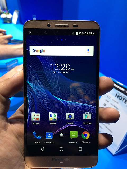 Panasonic launches youth-centric Eluga Note smartphone in India for Rs. 13290