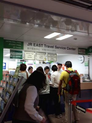 JR East Travel Service Centre at Haneda Airport Japan