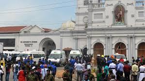 terrorists  target the Catholic Church in sri lanka