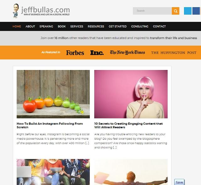 Review Blog :Jeffbullas.com Ajarkan Kita Bagaimana Memaksimalkan Medsos