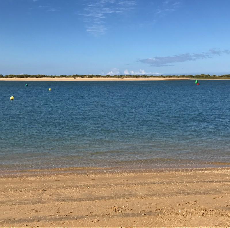 playa de la costa de Huelva