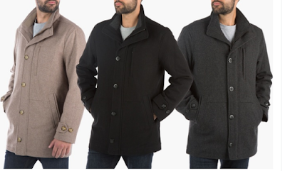 London Fog Men's Car Coat $69.