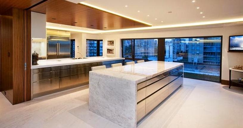Detalles de una cocina de estilo industrial cocinas con for Muebles de cocina estilo industrial