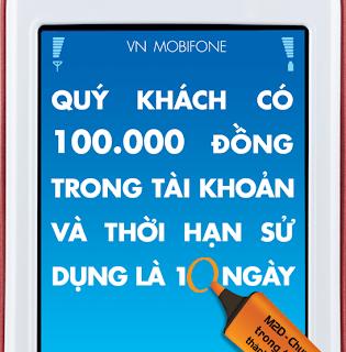 Cách chuyển tiền thành ngày sử dụng M2D của Mobifone