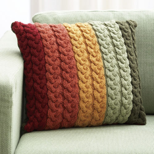 Patons Pillow - Knit Pattern