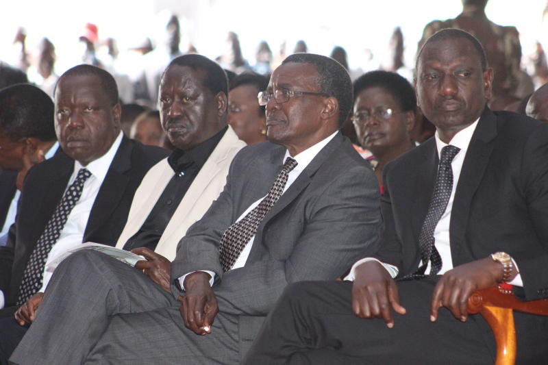 Image result for raila and matiangi