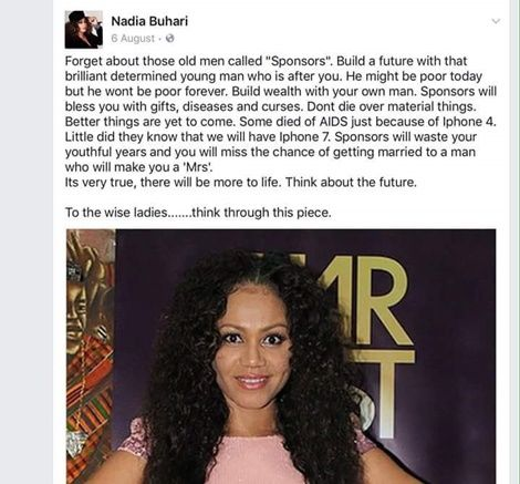 Actress Nadia Buari Advises Ladies Dating Old Men...