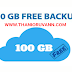 How to use 100 GB free cloud drive application?