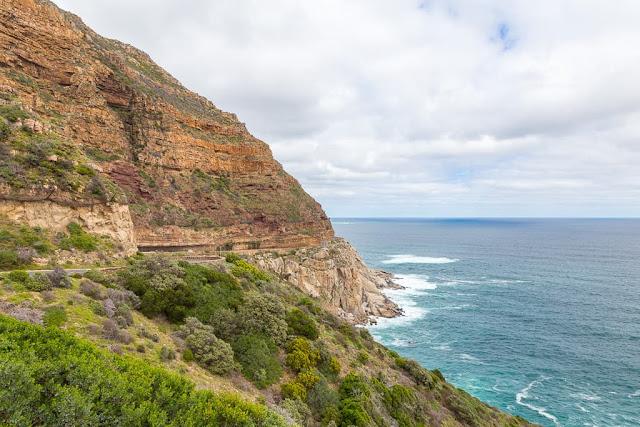 Chapman's Peak Drive, Península del Cabo, Sudáfrica