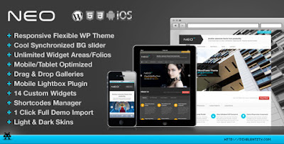 Download NEO v1.1.3 Premium Responsive Business WordPress Theme