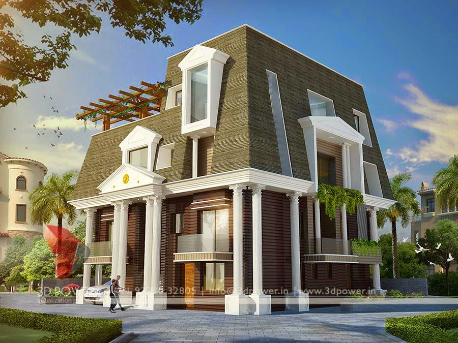 Ultra modern home designs home designs home exterior for Small house design in kolkata