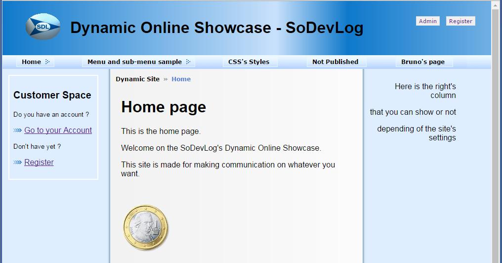 Très Dynamic Online Showcase | SoDevLog - Société de Développement Logiciel FX24
