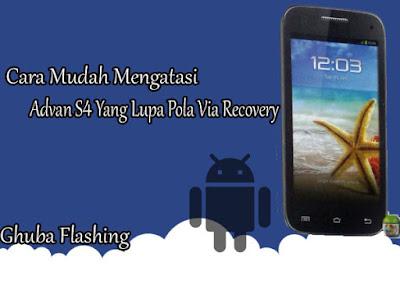 Alasan orang menciptakan contoh atau kata sandi di sebuah smartphone yakni supaya ponsel smart Cara Praktis Mengatasi Advan S4 Yang Lupa Pola Via Recovery