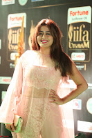 Nidhi Subbaiah Glamorous Pics in Transparent Peachy Gown at IIFA Utsavam Awards 011.JPG