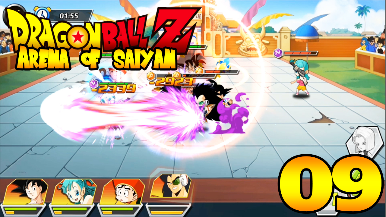 Arena of Saiyan (Dragon Ball) Terrible Power - Android Gameplay