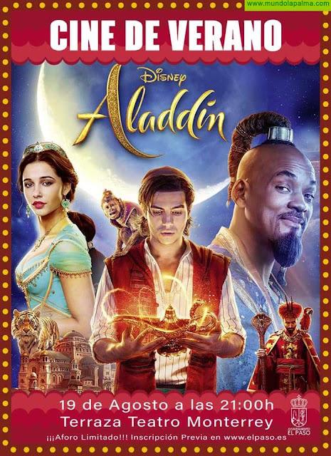Aladin - Cine de Verano en El Paso