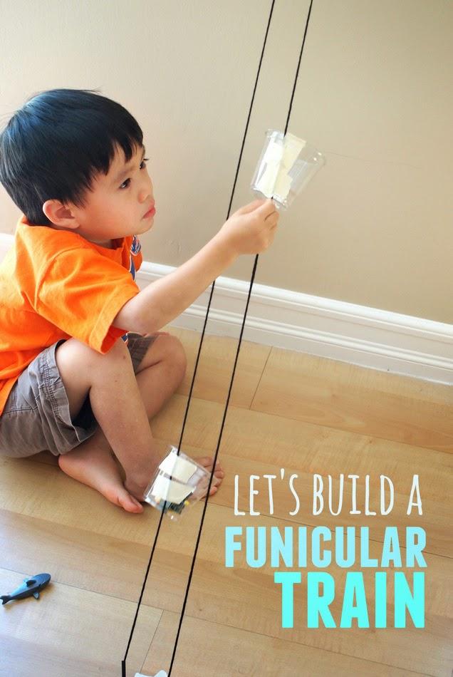 Build a Funicular Train | Pink Stripey Socks