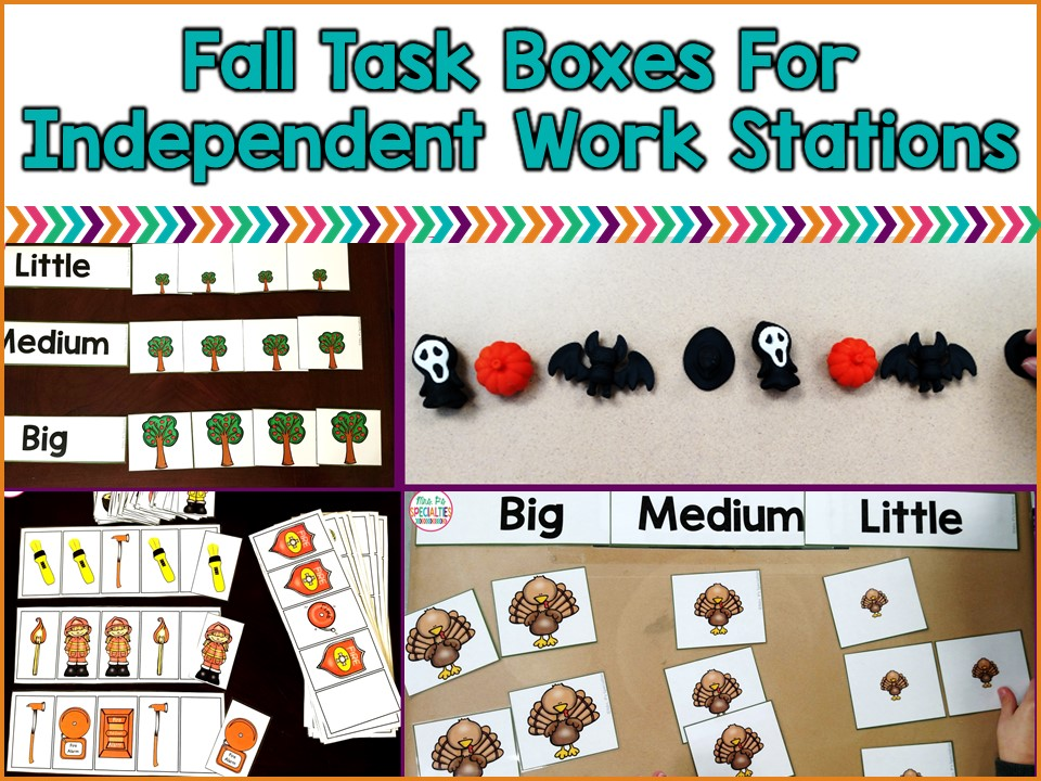 Fall is full of fun themes that can easily be integrated in your work stations. While I mostly uses these tasks during work stations, you can also use them for early finishers, review, centers, and during direct instruction or work centers.