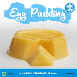 jual egg pudding powder