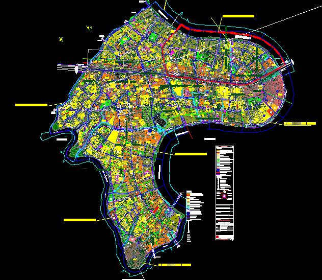 Bản đồ hoạch phường An Phú Đông
