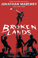 Broken Lands by Jonathan Maberry book cover and review