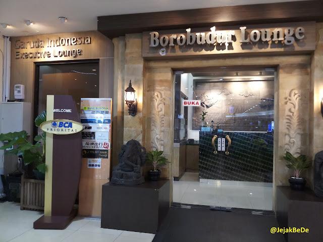Garuda Executive Lounge Bandara Adi Sutjipto Yogyakarta