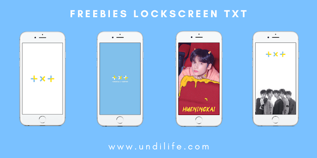 Freebies TOMORROW X TOGETHER [TXT] Lockscreen