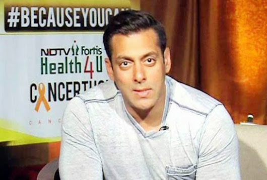 Salman Khan Says we are not Real Hero but the Real ones are Who Fighting with Cancer | Box Office LIne