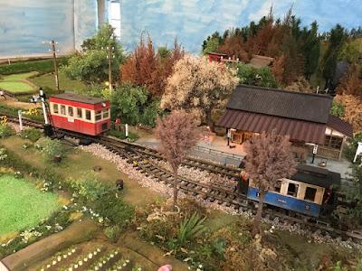 銚電写真館の鉄道模型