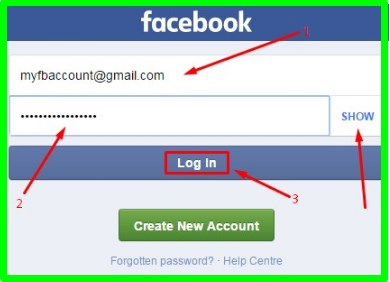 Facebook Mobile Site Login