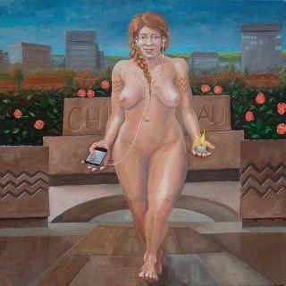 Обнажённая женская натура. Rogier Janssen