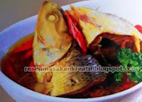 Pindang ikan Bandeng yakni daftar sajian kuliner kali ini RESEP PINDANG BANDENG KECAP