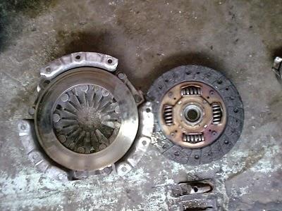 cakera klac (clutch plate)  kereta akan ambil masa seharian untuk ditukar dengan kos RM 800