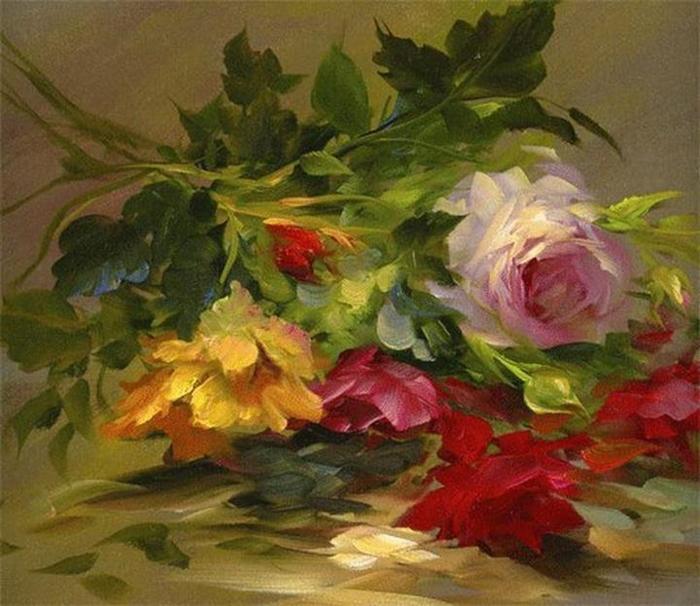 Цветочные картины. Gary Jenkins 7