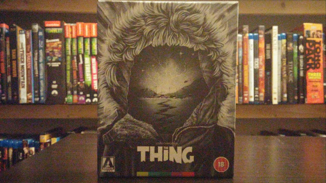 front cover of the thing from arrow video