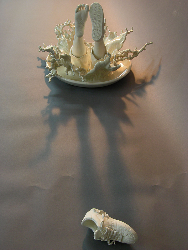 Ceramic Sculptures by Johnson Tsang