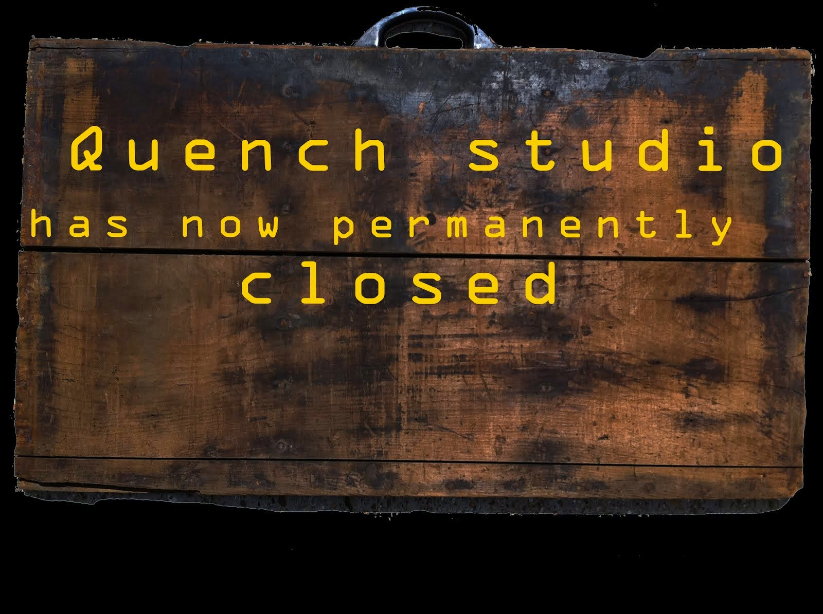 quench studio has now closed