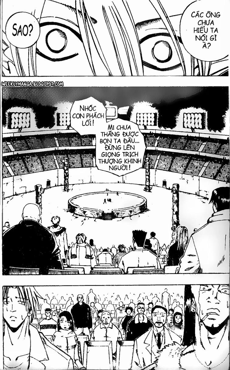 Shaman King [Vua pháp thuật] chap 122 trang 9