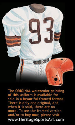 Cleveland Browns 1950 uniform