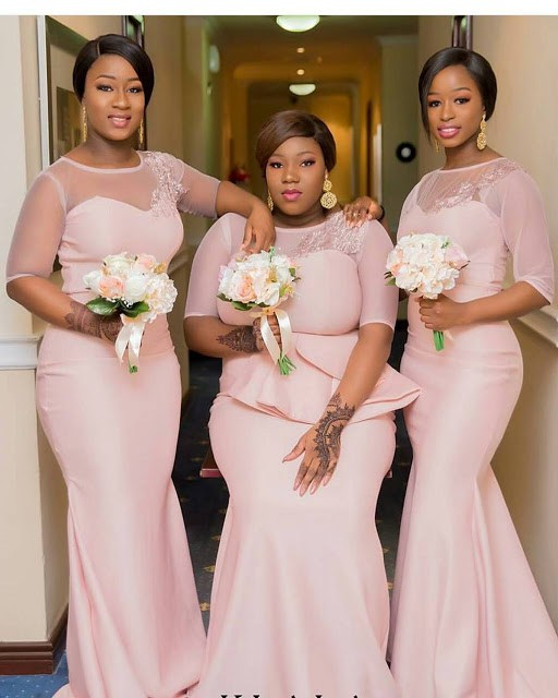 ec2baf4f7d WOW!!! 2018 Bridesmaid Dresses for Nigerian Women – Trendy Ankara ...