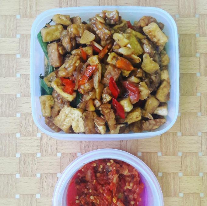 """Cooktime """"Oseng Tempe Tahu"""" Ndeso ala Nak Kost Masak"""