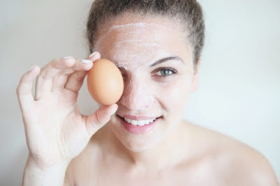 scar removal using egg white