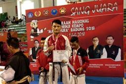 Atlet Kempo Lampung Barat Raih Medali Perunggu di Kejuaraan Kempo Nasional Manggapura Cup 2018