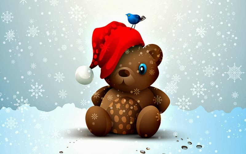 Christmas Teddy Bear Wallpaper: Hot Girl Wallpaper: Best Christmas Teddy Bear HD Wallpaper