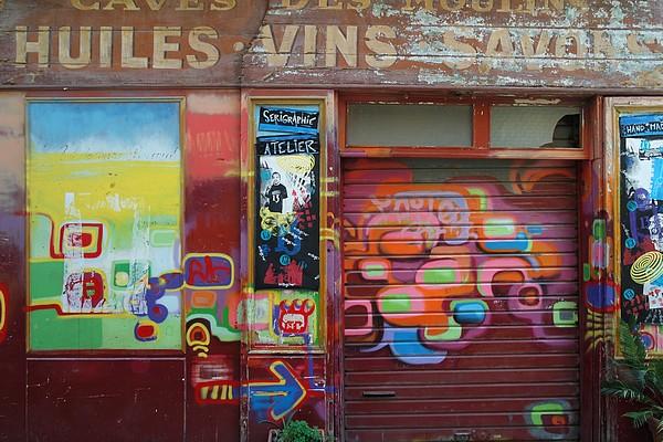 panier marseille street art