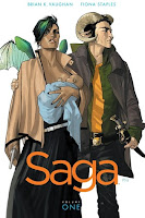 saga by brian k. vaughn cover