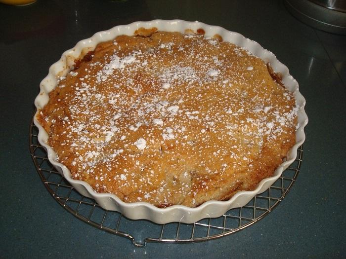 עוגת תפוחים הפוכה - קלה להכנה