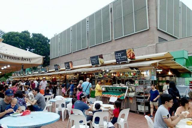 Makansutra Gluttons Bay, Singapore